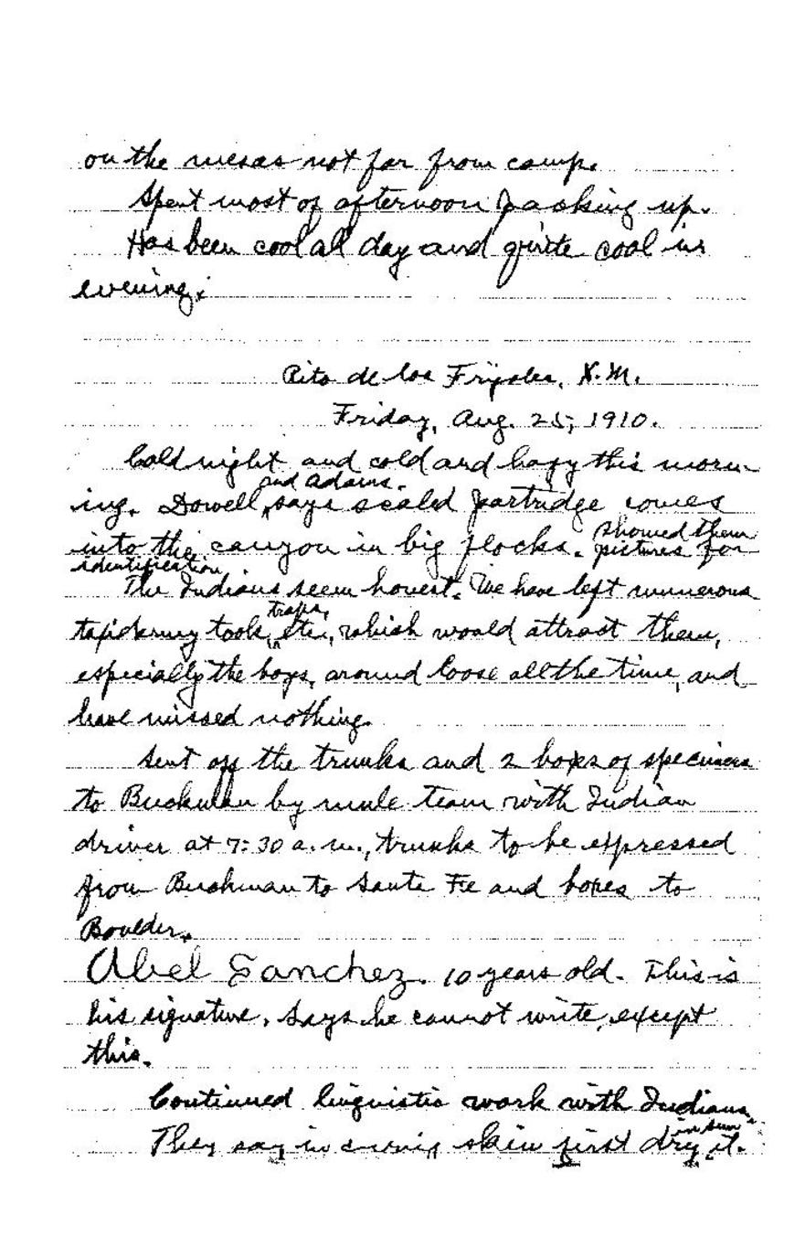 Page:Field Notes of Junius Henderson, Notebook 4 pdf/137