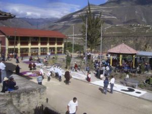 Magdalena District, Chachapoyas - People from Magdalena celebrating