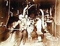 Fire Room aboard USS Brooklyn (ACR-3), 1898 (25588802960).jpg
