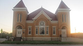 Anson, Texas - Image: First United Methodist Church, Anson, TX IMG 6242