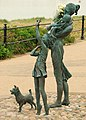 Fleetwood, Bronze Statuesques - geograph.org.uk - 2019080.jpg