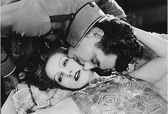 Flesh and the Devil - Publicity still with Greta Garbo and John Gilbert for Flesh and the Devil.