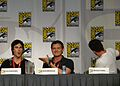 Flickr - vagueonthehow - Ian Somerhalder, Kevin Williamson ^ Michael Trevino (2).jpg