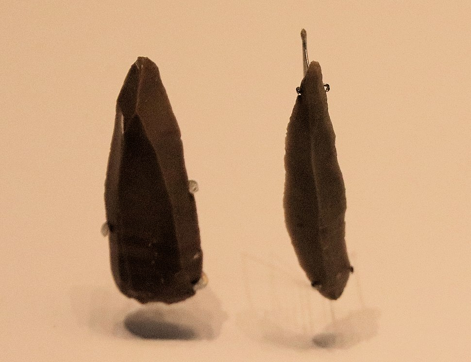 Flint Stone Points, Late Stone Age, Boqer Tahtit and el-Wad Cave, 50000-28000 BP