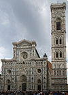 Florence Santa Maria del Fiore front and tower.jpg