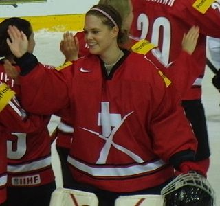 Florence Schelling Swiss ice hockey player