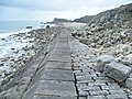 Folly Pier Waterworks Sea Wall, Portland, Dorset 3.jpg