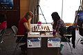 Fondation Neva Women's Grand Prix Geneva 09-05-2013 - Olga Girya vs Yifan Hou.jpg