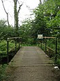 Footbridge alongside Basingstoke Canal - geograph.org.uk - 1670948.jpg