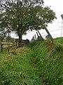 Footpath - Godly Lane, Rishworth - geograph.org.uk - 987962.jpg