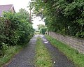 Footpath - Sunny Bank Road, Mirfield - geograph.org.uk - 907266.jpg