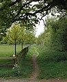 Footpath beyond Biggin Hall Lane, Thurlaston - geograph.org.uk - 1295750.jpg