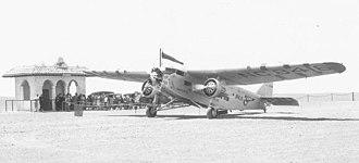 Pan American-Grace Airways - Panagra's Ford Trimotor
