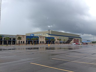 Ford Arena - Image: Ford Arena Beaumont Texas June 2014