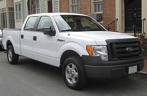 Ford F-Series (twelfth generation) - Image: Ford F 150 XL Super Crew 03 10 2010