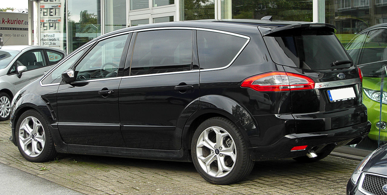 file ford s max 2 0 tdci titanium s facelift rear wikimedia commons. Black Bedroom Furniture Sets. Home Design Ideas