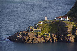 Fort Amherst from Signal Hill