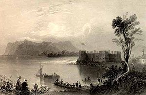 Military of New France - Fort Chambly 1840