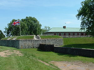Fort Erie, Ontario - The reconstructed Old Fort Erie