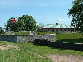 former fortification in Ontario