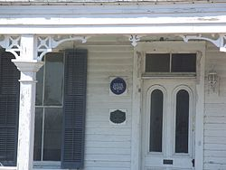 Fort george island old house gf plaque01