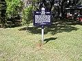 Fort Meade FL Lewis house marker01.jpg