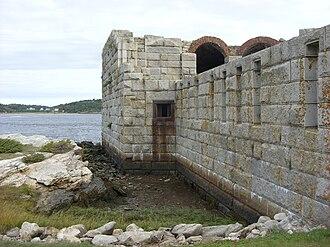 Phippsburg, Maine - Fort Popham