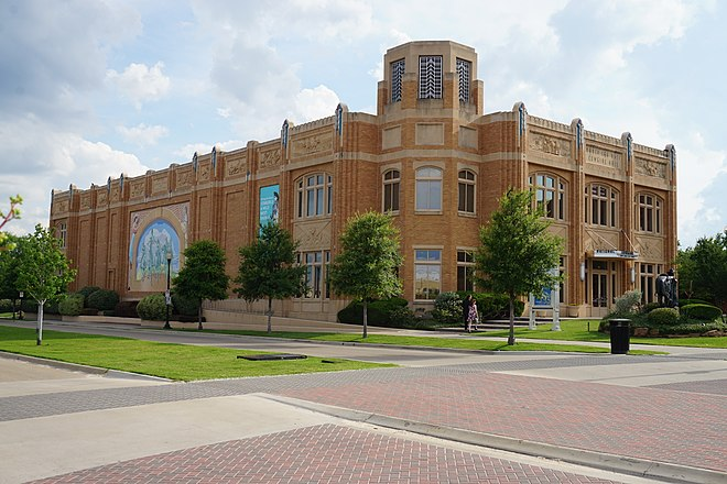 National Cowgirl Museum and Hall of Fame in Fort Worth, Texas Fort Worth Cultural District June 2016 06 (National Cowgirl Museum and Hall of Fame).jpg