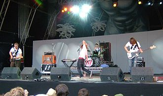 ¡Forward, Russia! - Playing live at Summer Sundae, August 2006