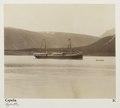 Fotografi av ångbåten Capella. Norge - Hallwylska museet - 105822.tif