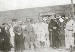 Uribia, La Guajira - Captain Eduardo Londoño and Cacique Bartola González founded Uribia, with the presence of the Capuchin friars. (1935)