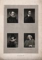 Four men; Francis Bacon, Edmund Spenser, Samuel Johnson, and Wellcome V0006804.jpg