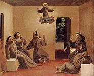 Fra Angelico - Apparition of St Francis at Arles - WGA0625.jpg