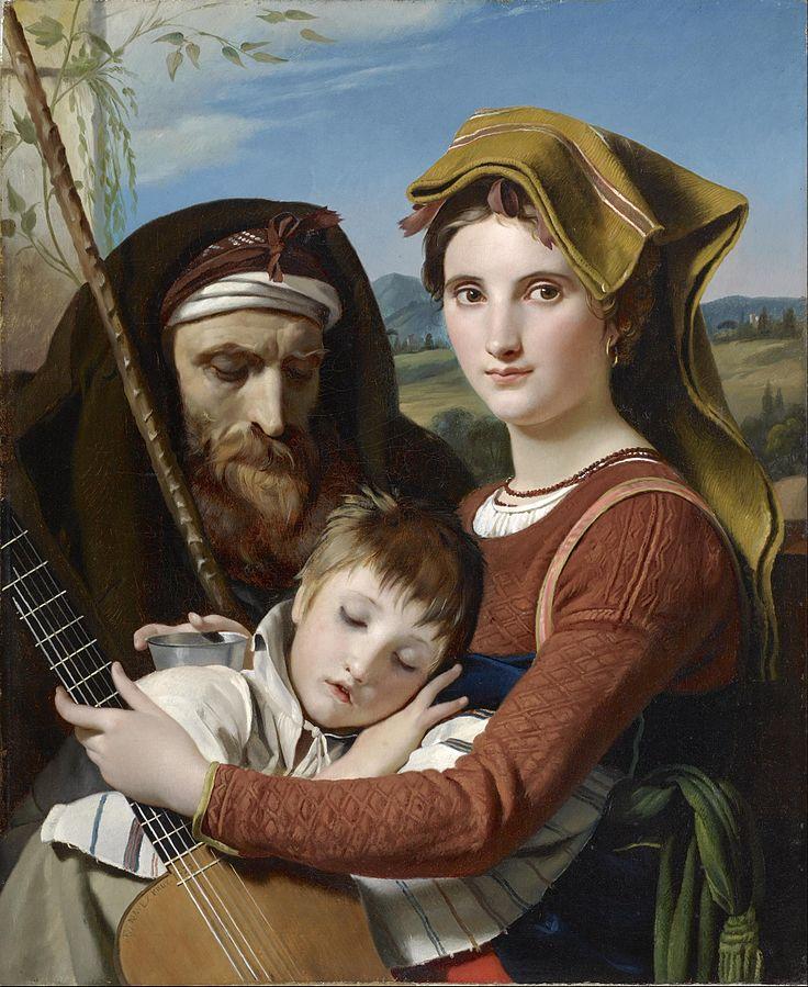 Roman Shepherd Family in the Campagna