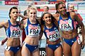 France 4 x 400 m women Paris 2011.jpg
