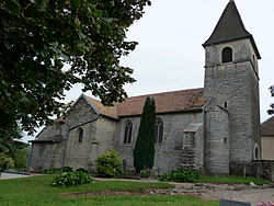 France Doubs Villars St Georges Eglise 16 août 2008.JPG