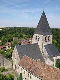 France Loiret Yevre-le-Chatel Eglise Saint Gault 01.JPG