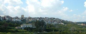 Francofonte - Image: Francofonte panorama