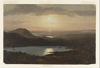 Eagle Lake depuis Cadillac Mountain, Mount Desert Island, Maine