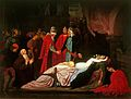 Frederic Leighton - The Reconciliation of the Montagues and the Capulets over the Dead Bodies of Romeo and Juliet.jpg