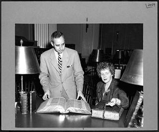 Frederick R. Goff librarian