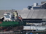 Freighter Whistler moored at the Redpath Sugar Refinery, 2013 05 02 -a.JPG