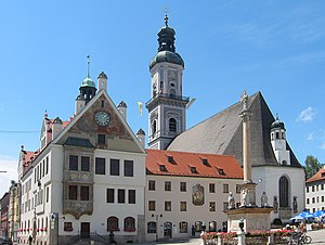 Freising - Image: Freising marienplatz