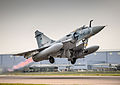French Air Force Dassault Mirage 2000C takes off from RAF Brize Norton.jpg