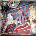 Frescos in Dormition of the Theotokos church in Zervati 2.jpg
