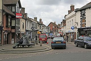 Ringwood Human settlement in England