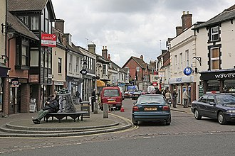 Ringwood - Image: Fridays Cross, Ringwood geograph.org.uk 174248