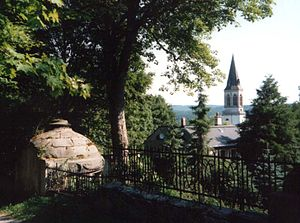 Johanngeorgenstadt - View of the Evangelical Lutheran church