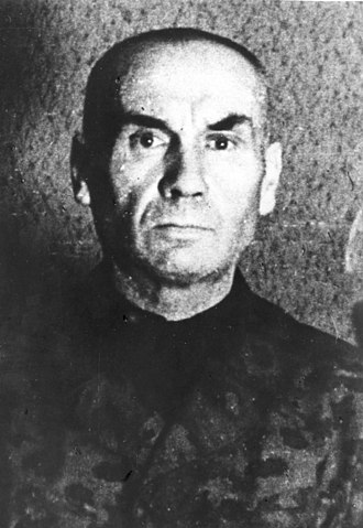 Friedrich Jeckeln - Friedrich Jeckeln in Soviet custody after World War II