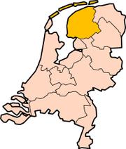 Friesland ê ūi-tì só͘-chāi